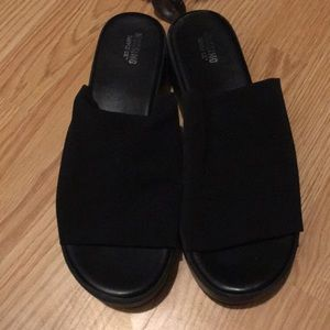 Mossimo Supply Co. platform sandals